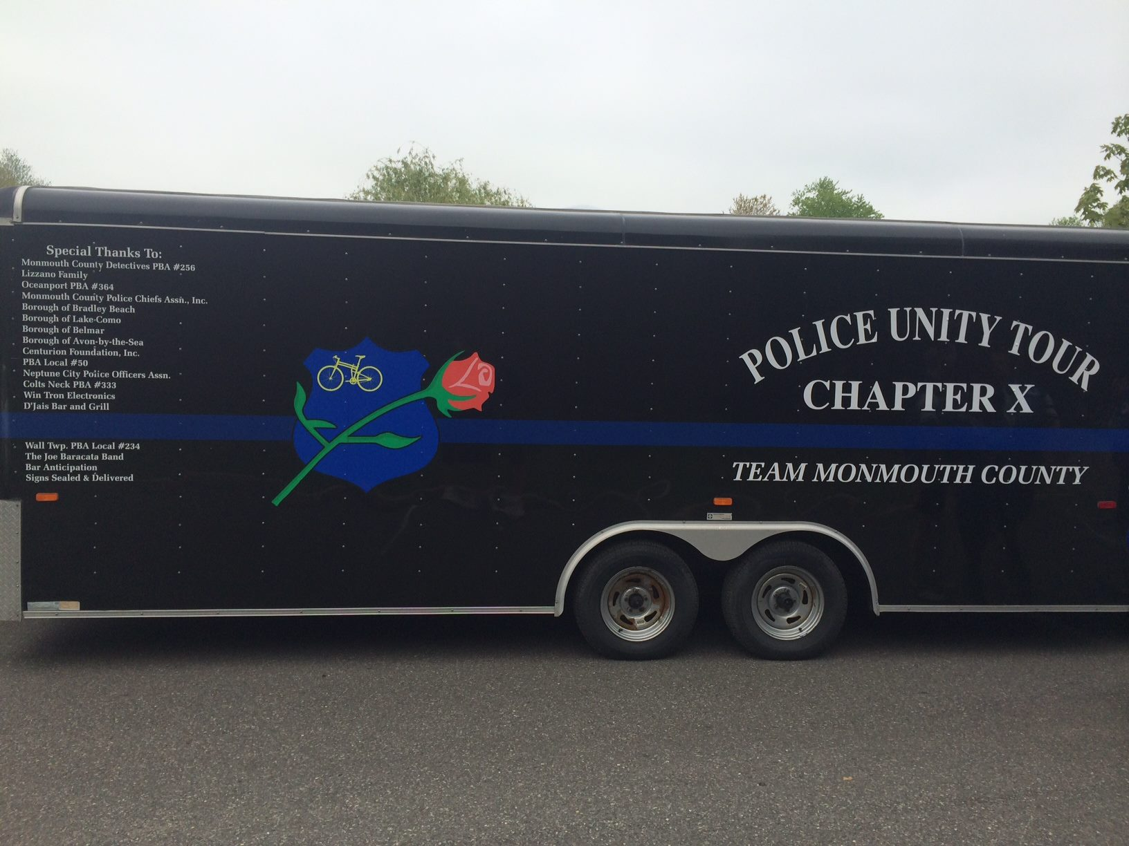 Police Unity Tour Chapter X