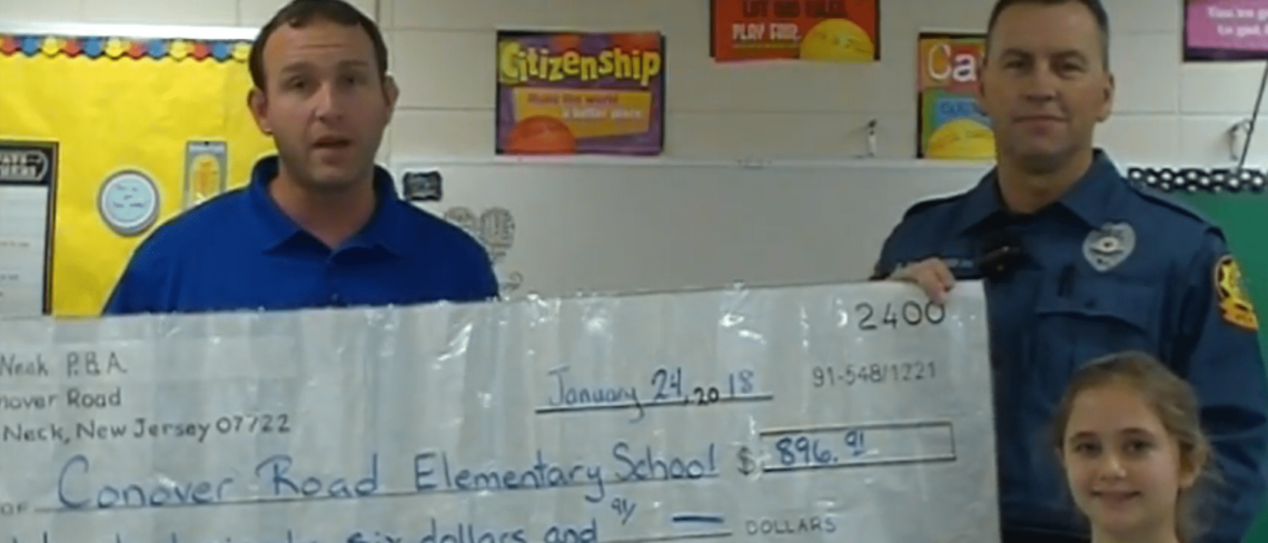Conover Road Elementary School Donation